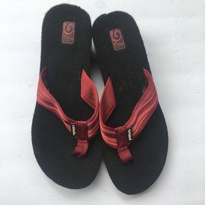 TEVA Flip Flop Size 9
